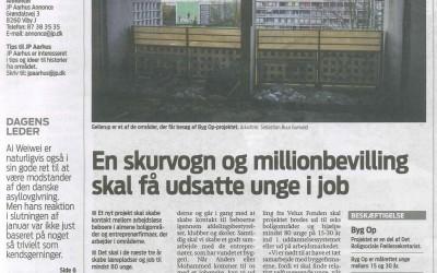 En skurvogn og millionbevilling skal få udsatte unge i job