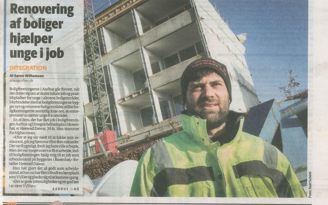 Renovering af boliger hjælper unge ijob