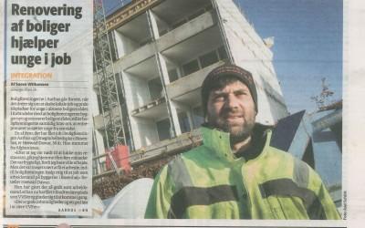 Renovering af boliger hjælper unge i job