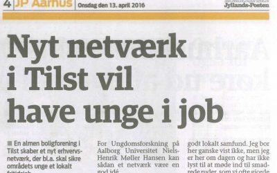 Nyt netværk i Tilst vil have unge i job