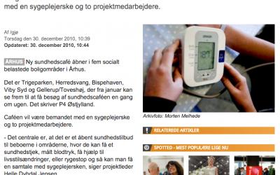 Sundhedscafé åbner i Aarhus