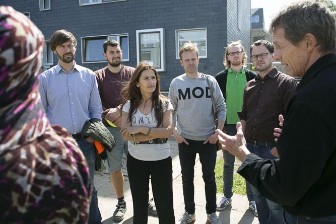 Joel, Øktem, Dahl og Grunfeld er begejstrede for beskæftigelsesprojekt