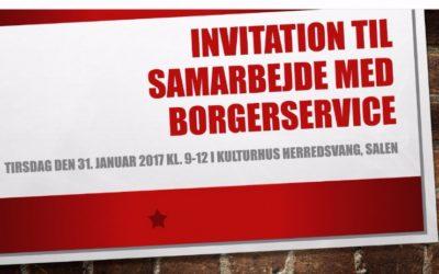 Samarbejdsmøde mellem borgerservice og boligsociale medarbejdere
