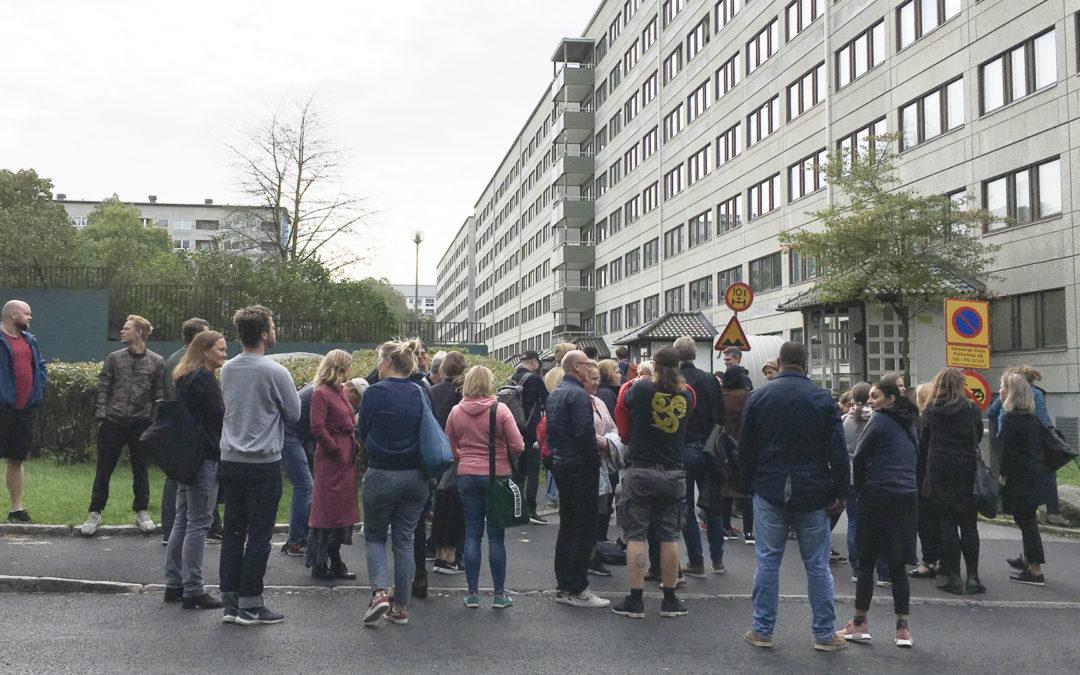 56 boligsociale medarbejdere henter inspiration i Göteborg