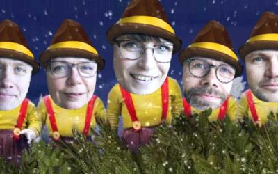 Julefrokost for boligsociale medarbejdere i Aarhus