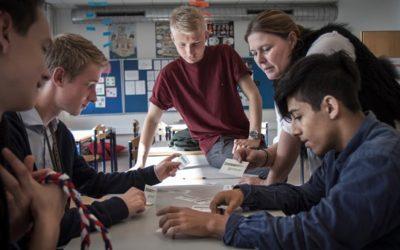 Iværksætteri på skoleskemaet skal styrke udsatte unge
