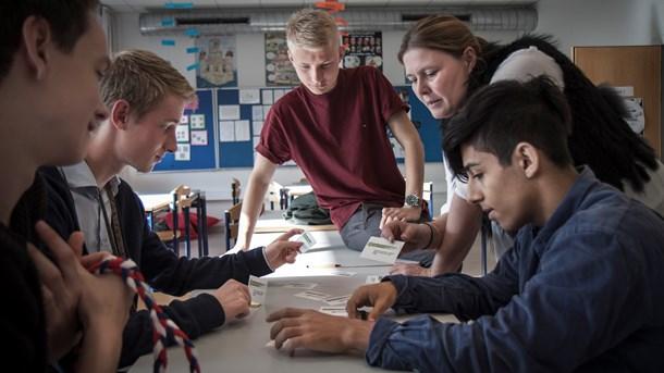 Iværksætteri på skoleskemaet skal styrke udsatteunge